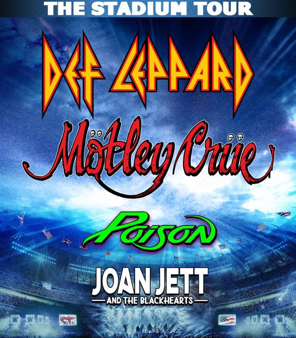 None - Motley Crue,  Def Leppard, Poison & Joan Jett and the Blackhearts
