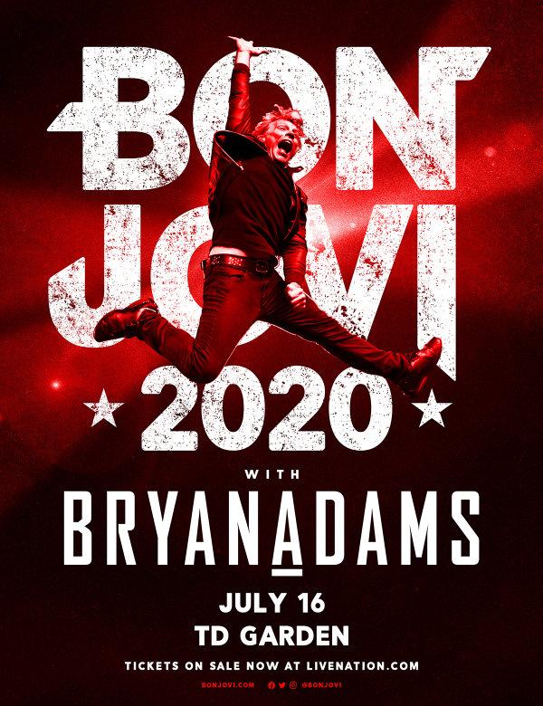 None - Bon Jovi at TD Garden