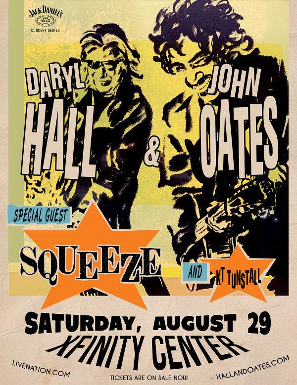 None - Daryl Hall & John Oates at the Xfinity Center