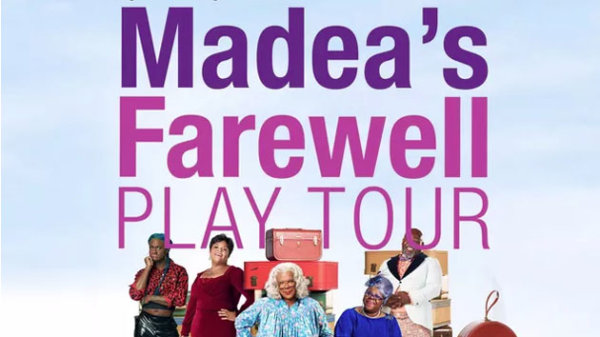 None - WIN tickets to Madea's Farewell Play Tour