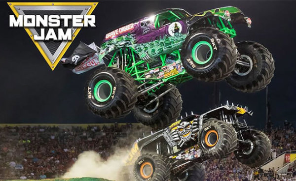 None - Win Monster Jam tickets and pit passes