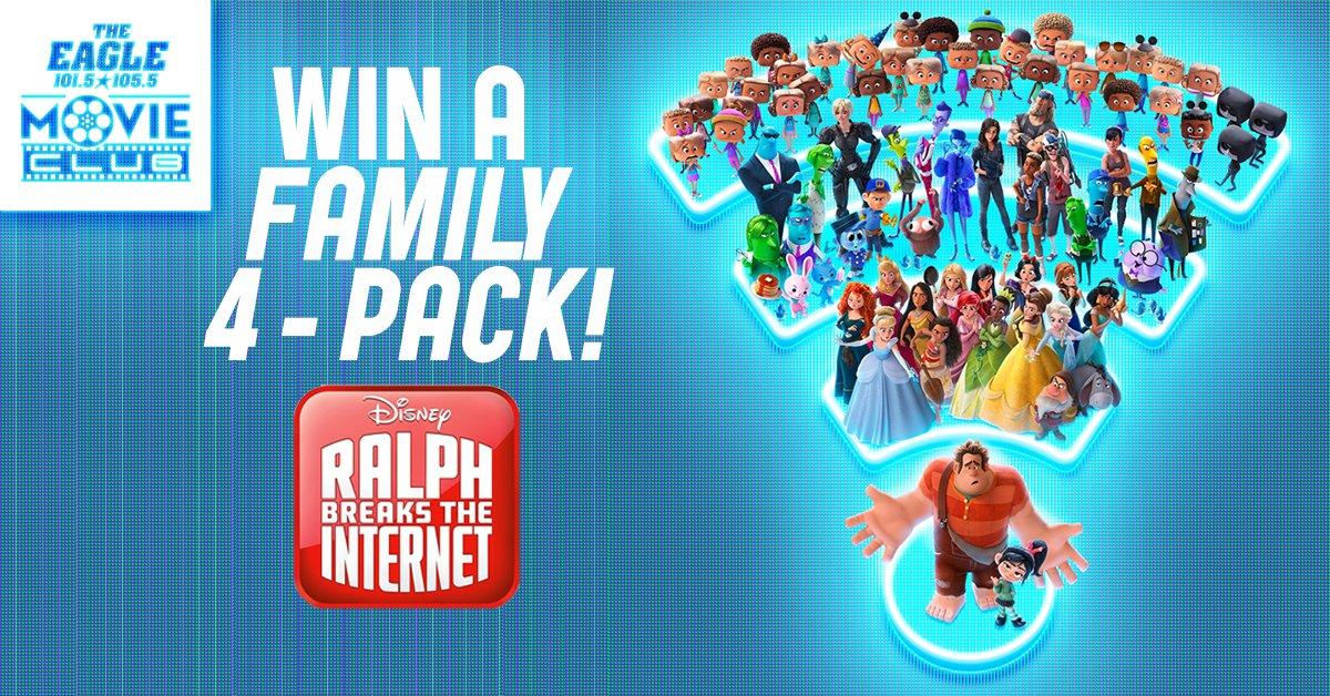 Win Tickets to Wreck It Ralph 2: Ralph Breaks the Internet!