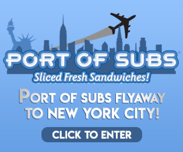 None -  Port of Subs Flyaway to New York City