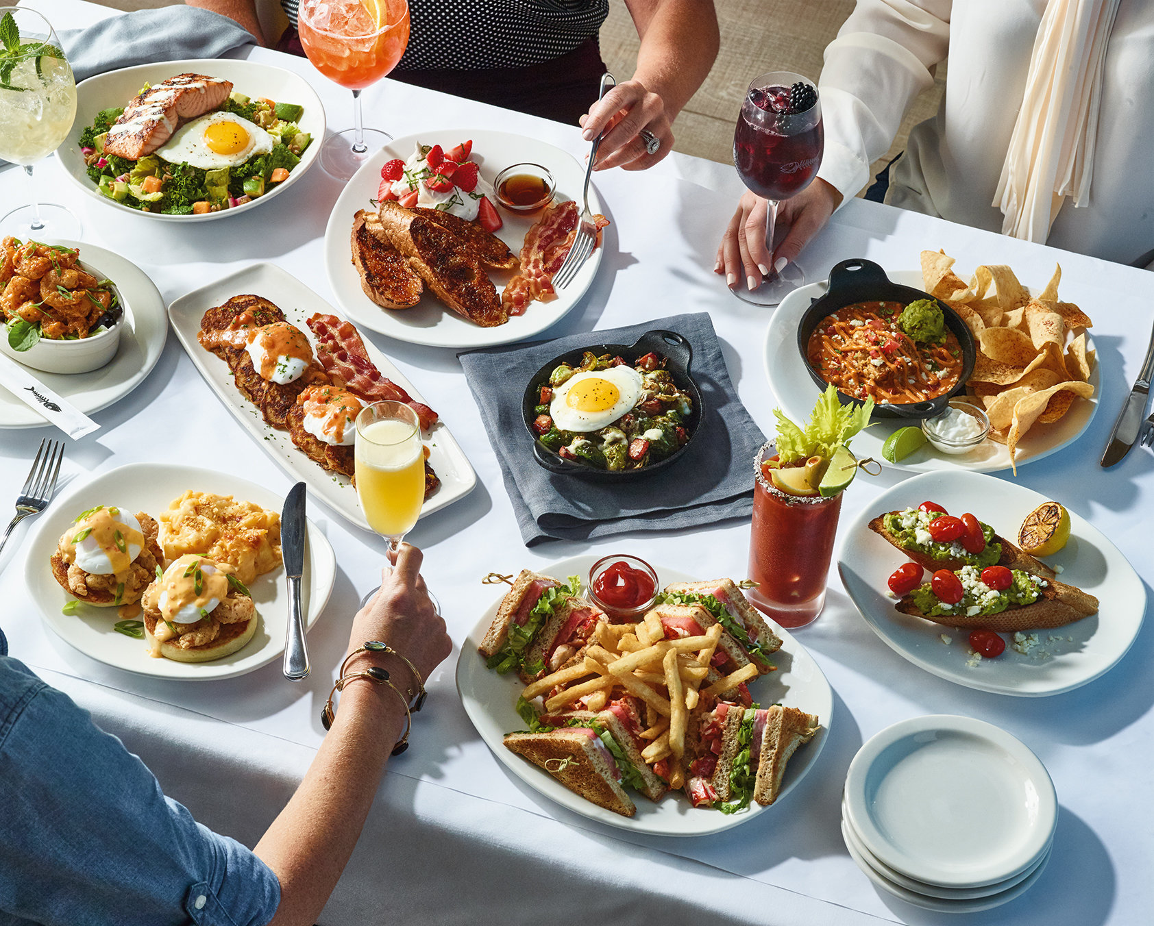 Escape The Ordinary This Weekend At Bonefish Grill And E A New Brunch Menu Featuring Hand Crafted Mimosas Marys Blackberry Sangria Alongside