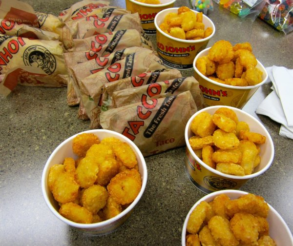 None -   Win a Six Pack and a Pound from Taco Johns!