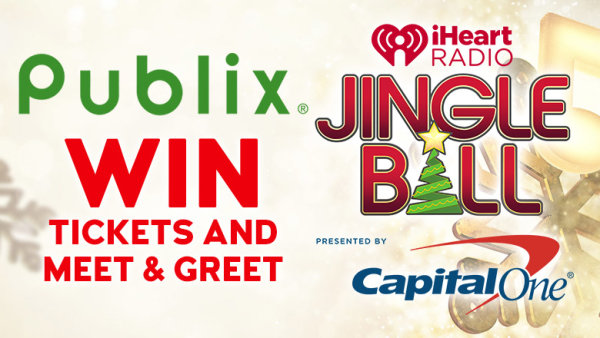 None - Join us at Publix Locations to win iHeartRadio Jingle Ball tickets & a Photo Op!