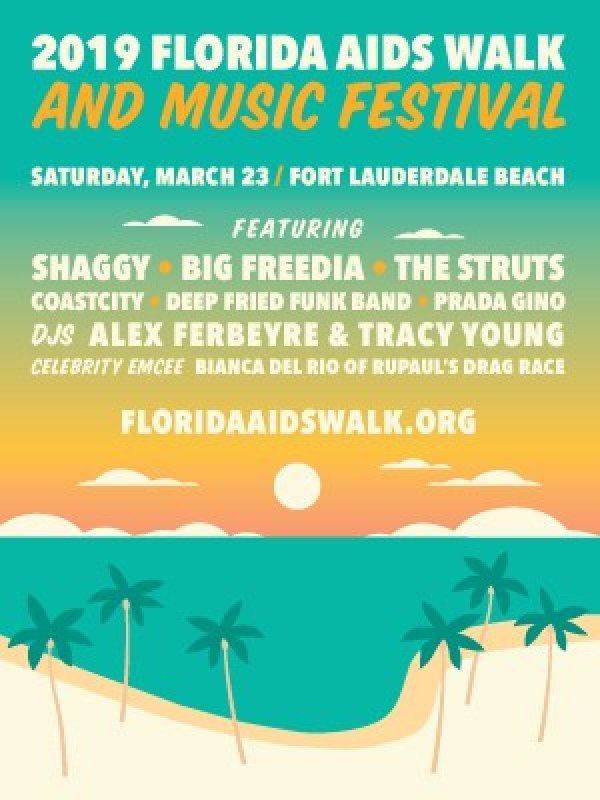 None - See Shaggy & DJ Tracy Young at the Florida AIDS Walk!