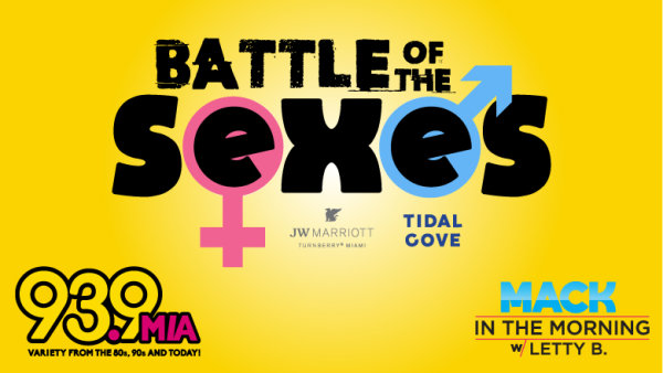 None - Battle of the Sexes!