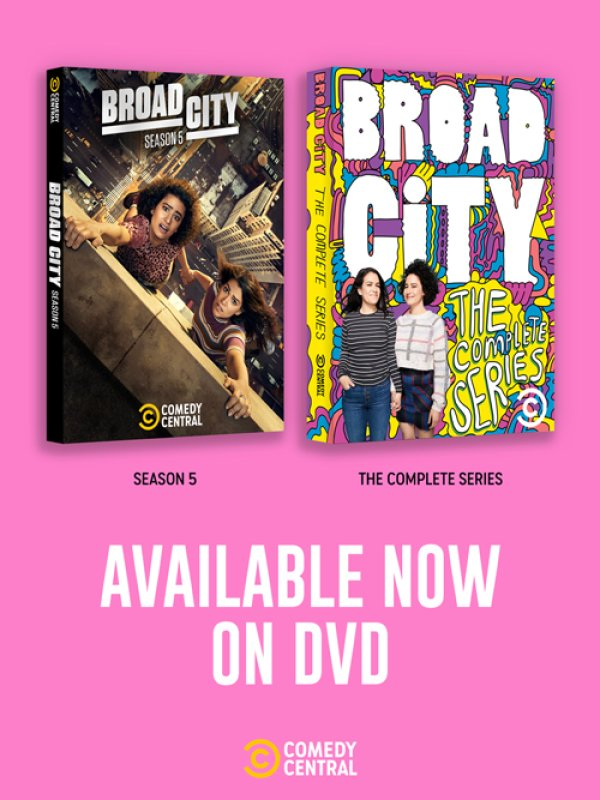 None - Broad City: The Complete Series!