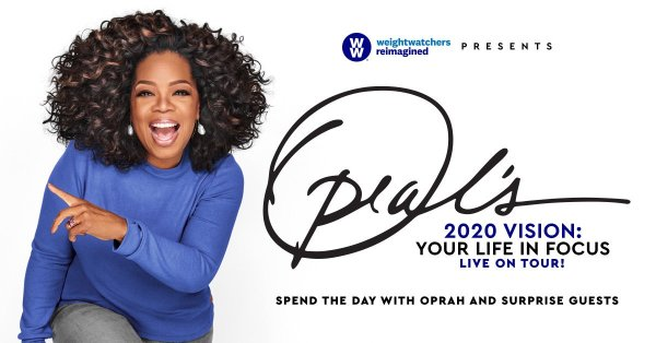 None - See Oprah LIVE at the BB&T Center