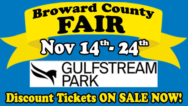 None - Win Tickets to the Broward County Fair!