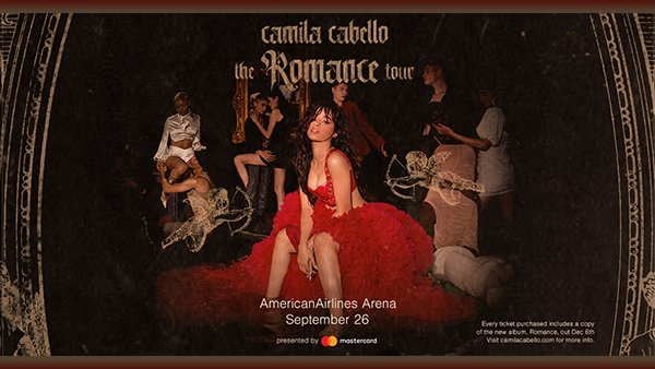 image for Camila Cabello The Romance Tour Takes Over AAA!
