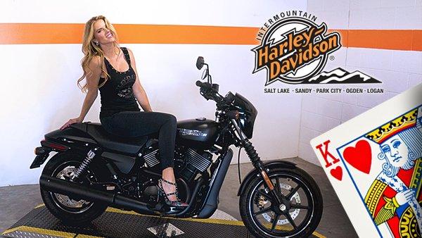 Win A Brand New Harley Davidson from Intermountain Harley Davidson!