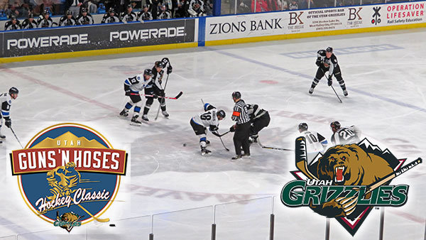 None - Join Hooker, Brooke & DB in the Rock 106.7 Suite at the Utah Grizzlies!