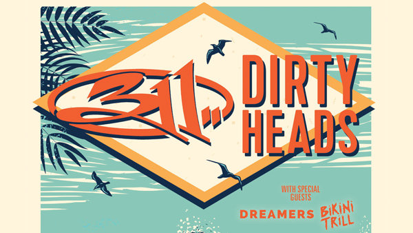 None - Win Tickets to See 311 and Dirty Heads!