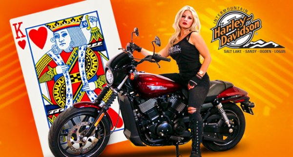 Win a Brand New Harley Davidson from Intermountain Harley Davidson!