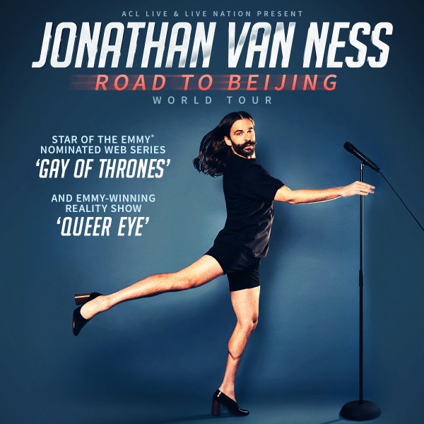 None - Enter to win tickets to Jonathan Van Ness!