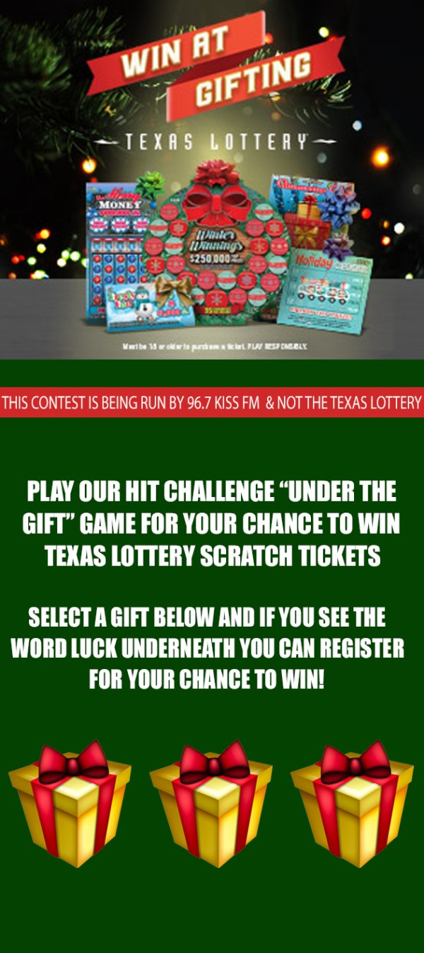 None - Enter For Your Chance To Win Texas Lottery Scratch Tickets!