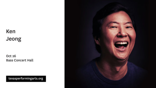 None - Enter To Win Tickets To See Ken Jeong At Bass Concert Hall!