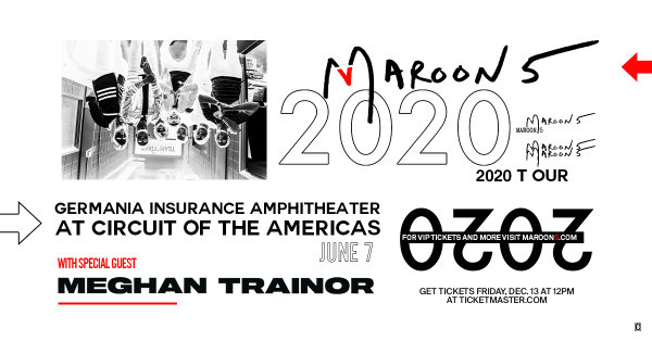 None - Enter To Win A Pair of Tickets To See Maroon 5!
