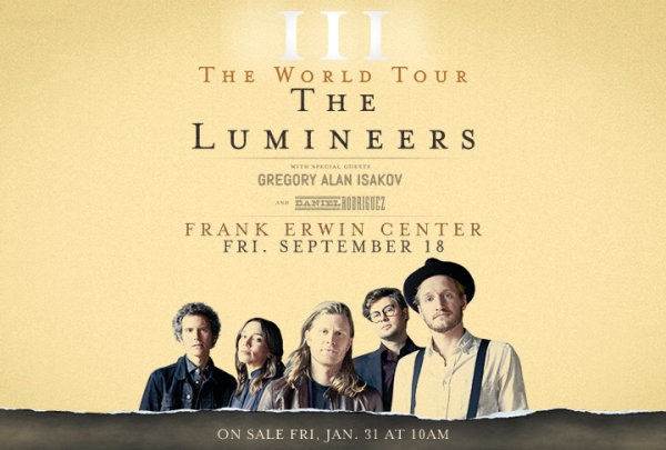 None - Win a pair of tickets to see The Lumineers!