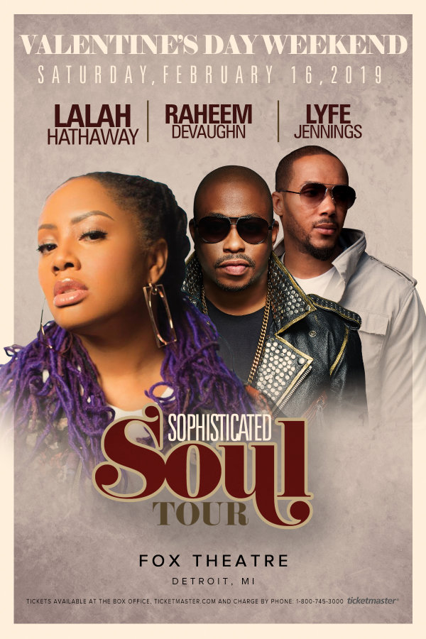 None - Win tickets to see Lalah Hathaway!