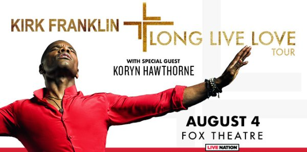 None - Win Tickets to see Kirk Franklin