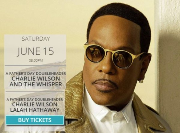 None -  Win Tickets to see Charlie Wilson and the Whispers