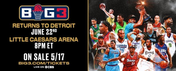 None - Win Tickets to Ice Cube's BIG 3 Pro Basketball
