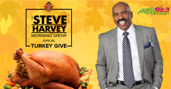 None - The Steve Harvey Turkey Give!
