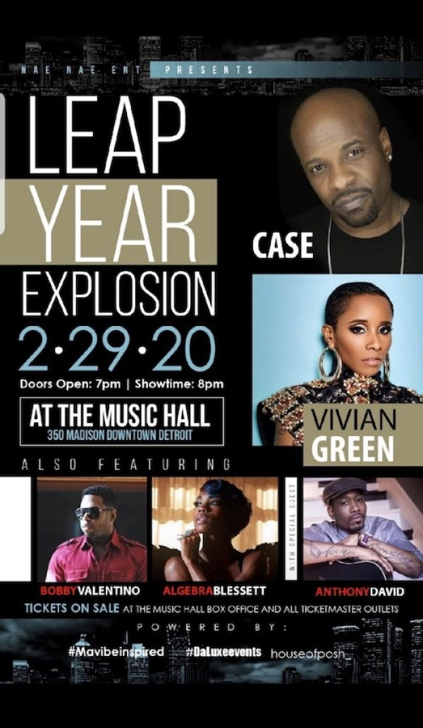 None - Win Tickets to the Leap Year R&B Explosion!