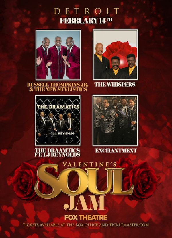 None - Win Tickets to the Valentine's Soul Jam