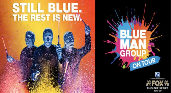 image for Win Tickets to Blue Man Group