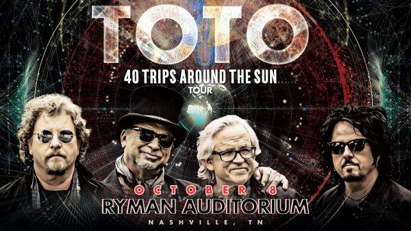 None - Toto @ the Ryman