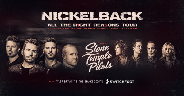 None - Nickleback - All the Right Reasons Tour
