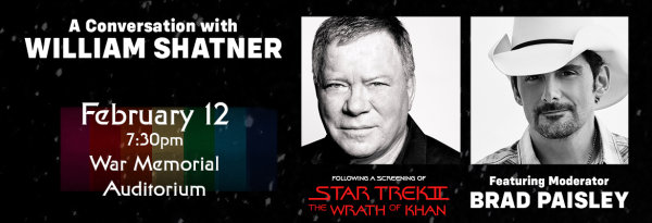 None - A Conversation with William Shatner!