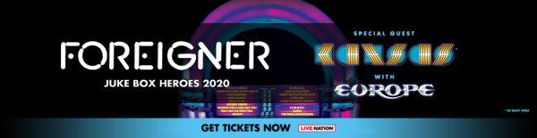 None - Foreigner - Juke Box Heroes 2020