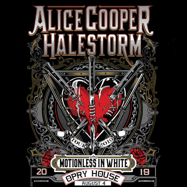 None - Alice Cooper and Halestorm