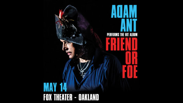 None - Win Tickets To Adam Ant At The Fox