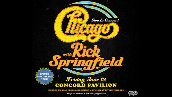 None - Enter To Win Tickets To Chicago & Rick Springfield