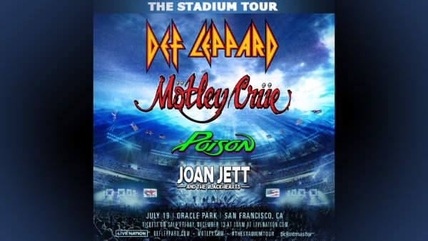 None - Enter To Win Tickets To Def Leppard And Mötley Crüe!