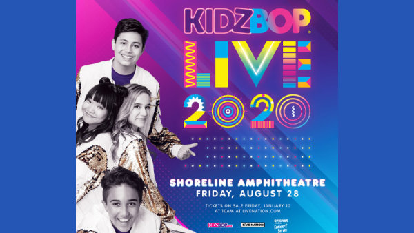 image for Enter For A Chance To Win Tickets To Kidz Bop Live 2020