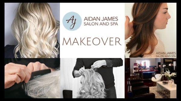 Aidan James Salon and Spa Makeover