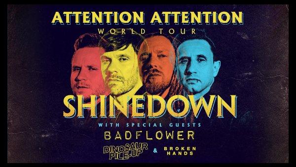 None - Shinedown Tickets