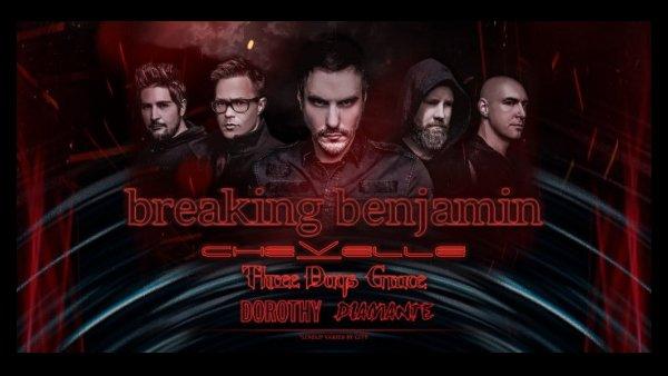 None - Breaking Benjamin Tickets