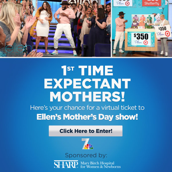 Enter for a chance to win a virtual ticket to Ellen's Mother's Day show!