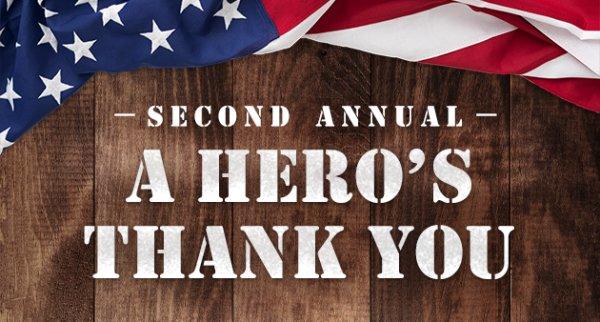 None - A Hero's Thank You