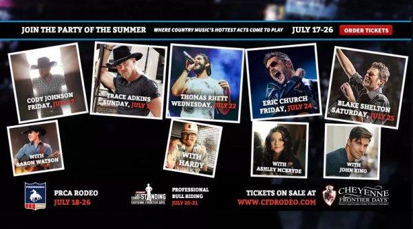 None - Cheyenne Frontier Days Ticket Giveaway