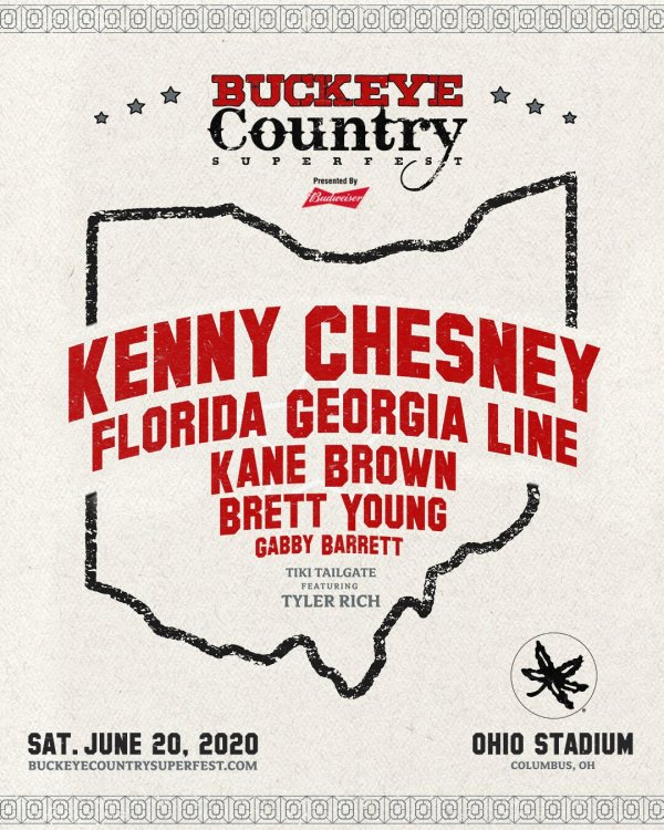 None - BUCKEYE COUNTRY SUPERFEST GIVEAWAY
