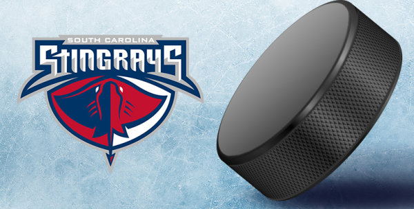 None -   Drop the First Puck at a South Carolina Stingrays Game